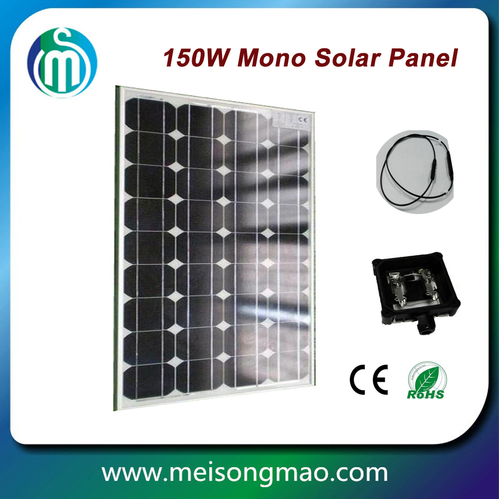 72 cell solar photovoltaic module, 300W mono solar panel, 10kw solar power system