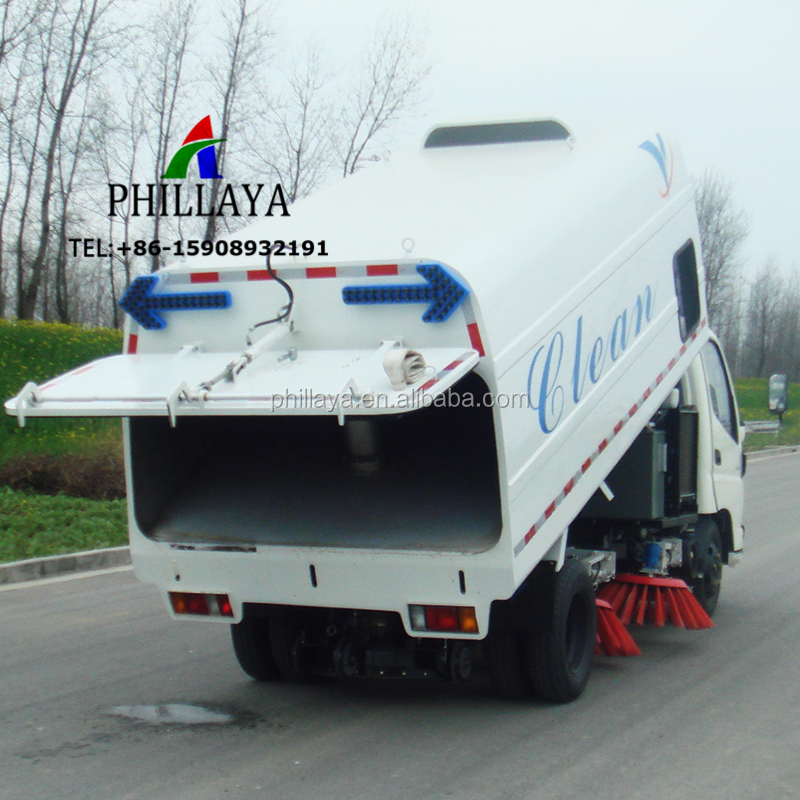 Truck Towing Garbage Dust Cleaning Dongfeng/Sinotruck Chassis Road Sweeper