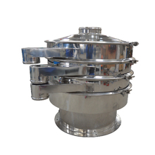Industrial food grade cocoa powder grain shaker sieve circle grade vibrating screen sifting machine
