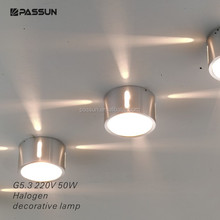 KTV style four rays led halogen decorative light for Art Gallery