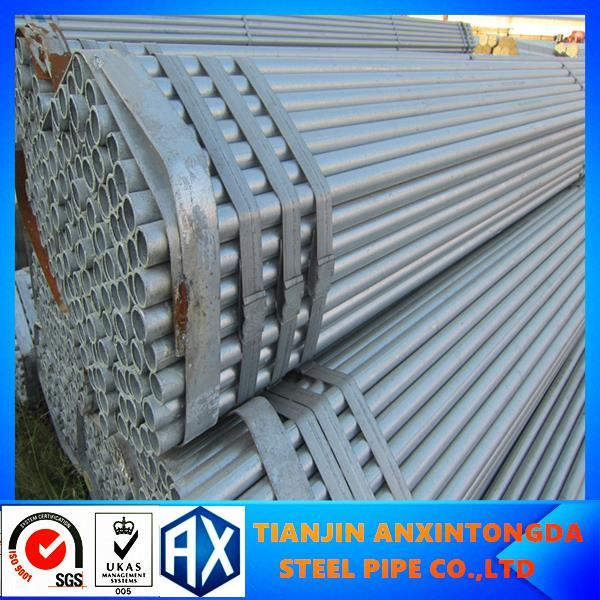ms galvanized drain pipe!thin wall steel pipe!gi steel pipe/tube