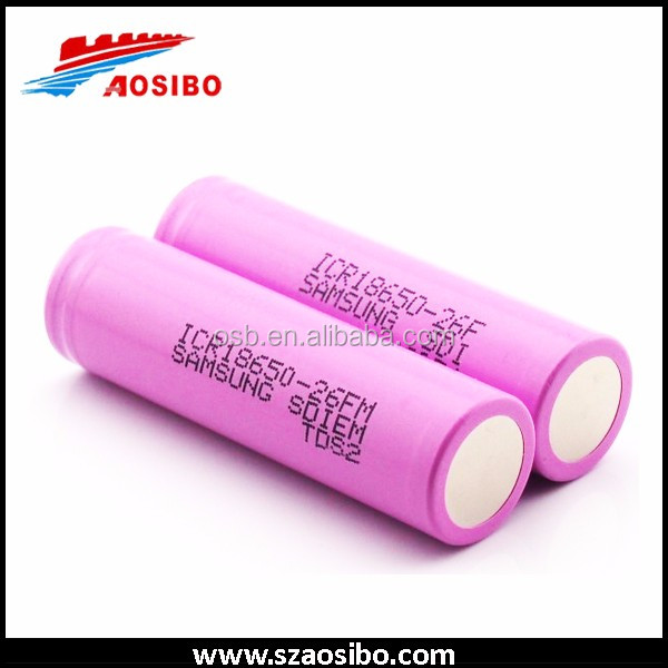 samsung/ pac 18650 14.4v 20ah li-ion battery pack for power bank