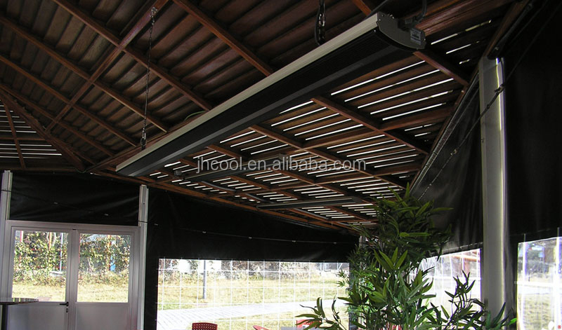 Infrared electric radiant sunny patio roofing aluminum heaters