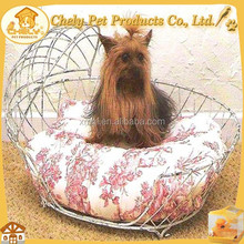Factory Supplied High-end Wrought Iron Dog Bed Wholesale Pet Beds & Accessories