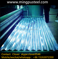 Z120 (G40) Galvanized Corrugated Steel Sheet / roofing metal sheet / Zinc coated steel sheet