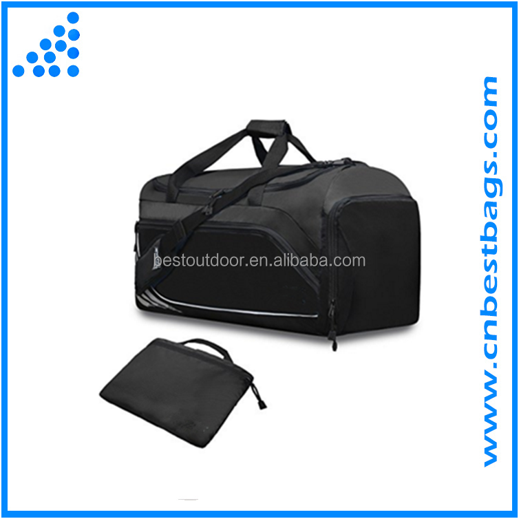 2016 hot style Bestbags gym duffle bag travel bag Travel Luggage Duffel Bag Lightweight for Sports, Gym, with shoes compartment