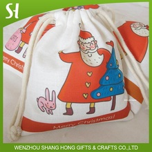 Father Christmas Santa Claus SNOWFLAKE GOODY kids Bags WINTER/Favors/CANDY/SWEETS
