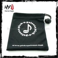 Hot selling jewelry pouch velvet with logo,jewely double drawstring bag,colour suede jewellery pouches with logo