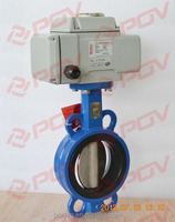 wholesale double acting electric solenoid water butterfly valve