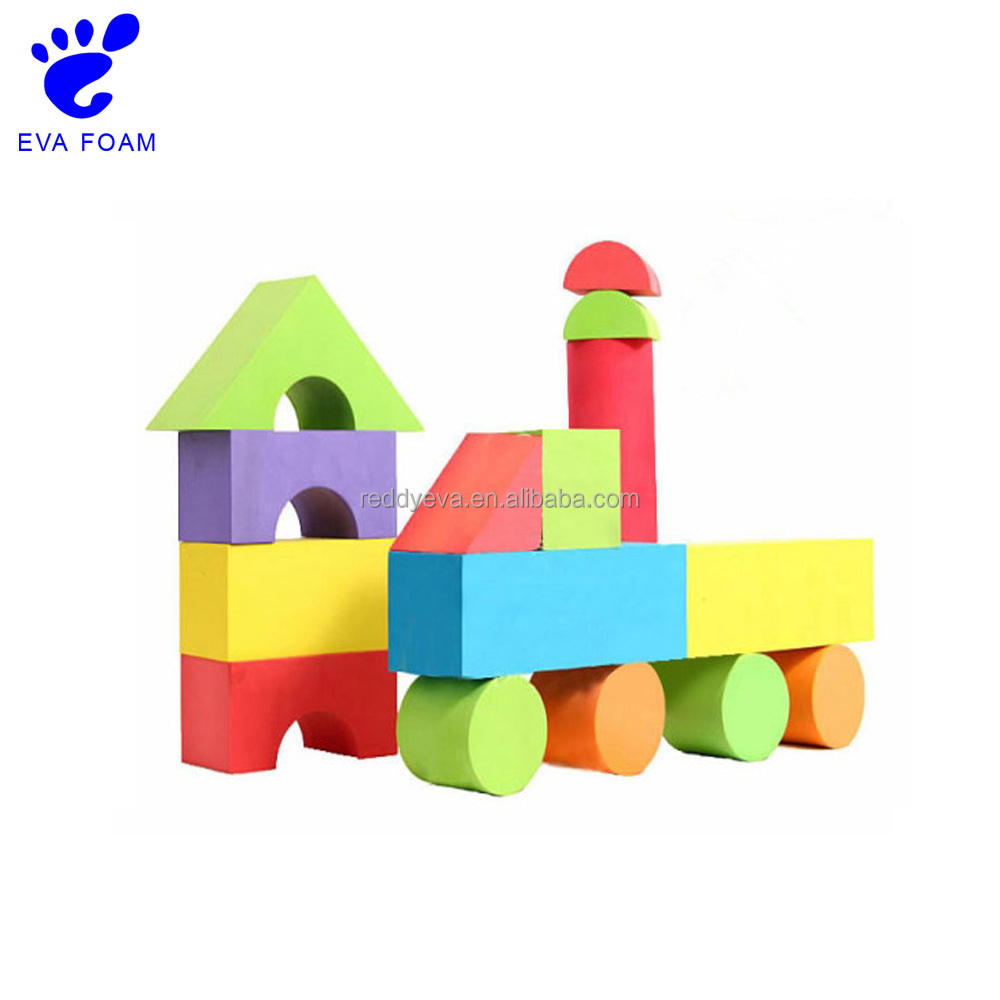 2017 best gifts kids play toy eva foam building blocks