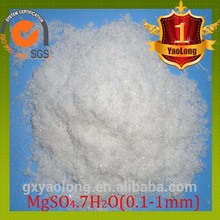 Top grade factory supply fertilizer / epsom salts / magnesium sulphate heptahydrate 99.5% (mgso4.7h2o) 10034-99-8