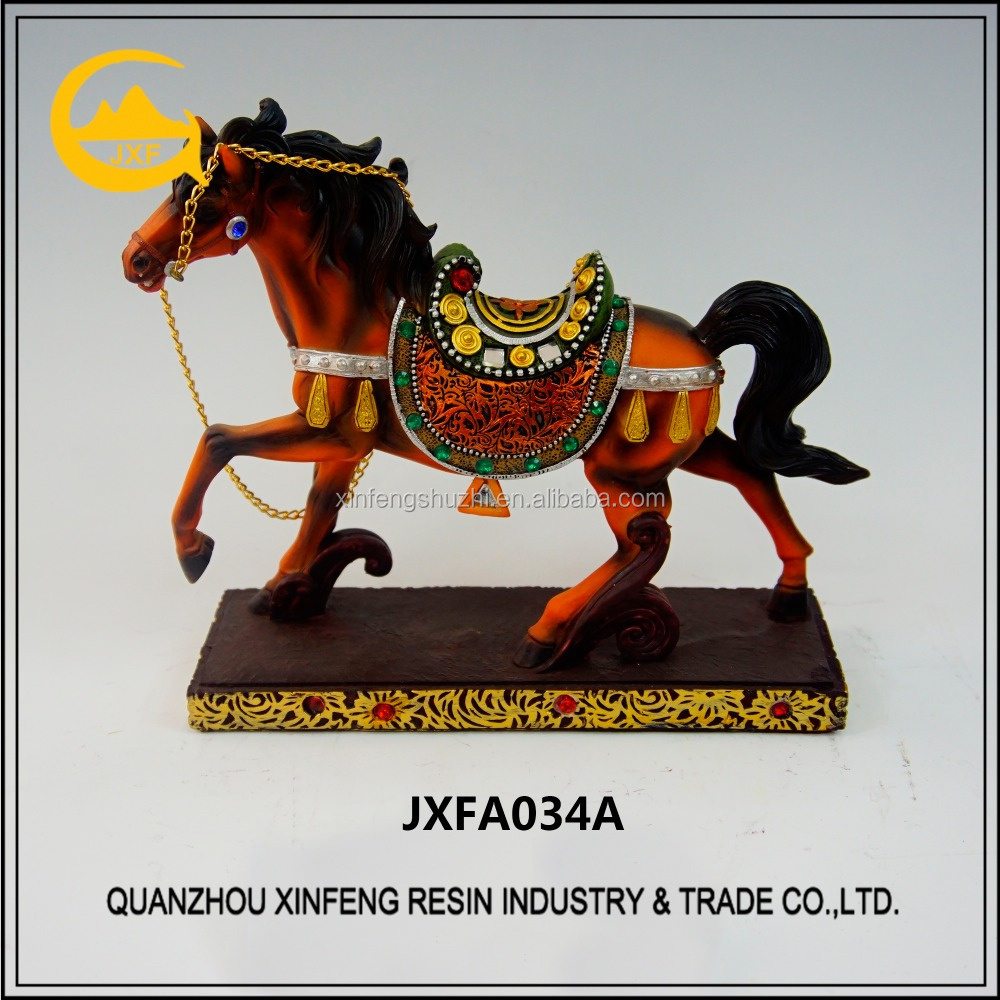 resin antique outdoor horse statues