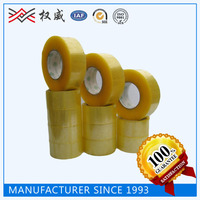 Yellowish Colored Packing Tape, BOPP Carton Sealing Adhesive packing Tape