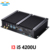 Partaker I3 Model Fanless Industrial Mini Pc 2 COM Black Color with Intel i5 4200u 4210u Core i5 Mini PC