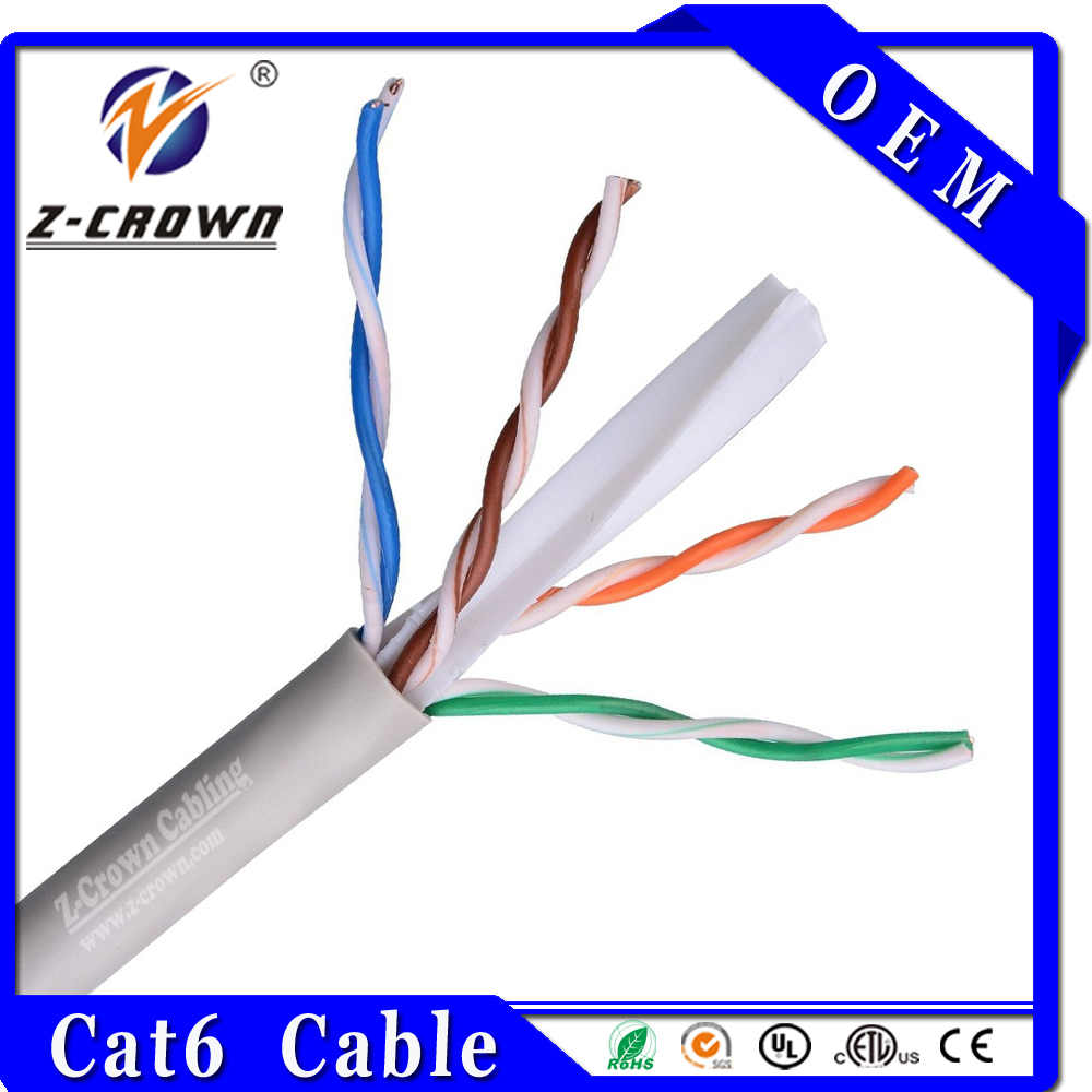 OEM UTP Cat6 4Pair 23AWG LAN CABLE Internet Cable Connection