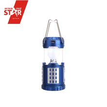 Portable Rechargeable Led Solar Camping Lantern with Cell Phone Charger