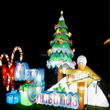 the outdoor christmas holiday lanterns for decoration