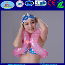 Inflatable wearable swim ring, Inflatable swimwear float tube