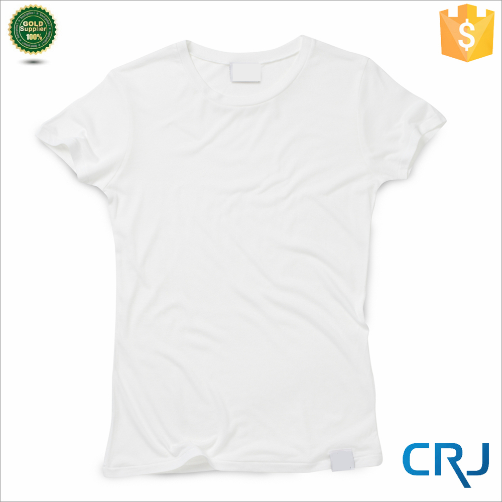 Custom White Basic Women T shirts