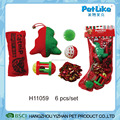 6PCS/ Set Wholesale Cheap And Hot Selling XMAS Cat Toy Gift Cat Play Toy