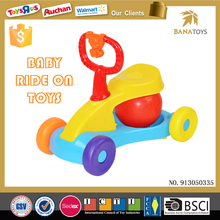 Newest kids plastic car children manual ride on toy