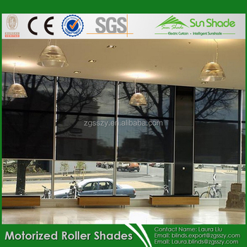 Somfy Motorized Roller Blinds Tubular Motor For Roller