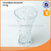 Wedding decoration simple design crystal clear glass flower vase wholesale