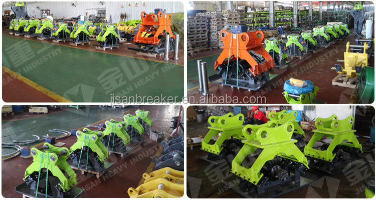 CE Certified Excavator Mounted Trench Hydraulic Vibratory Plate Compactor