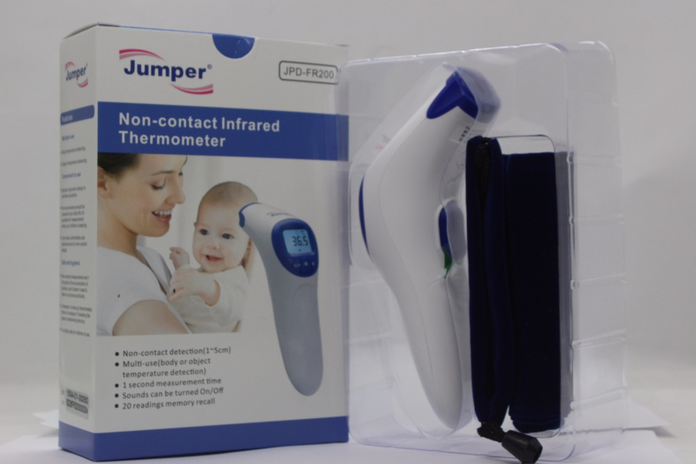 CE & FDA proved infrared thermometer forehead type, non contact digital thermometer