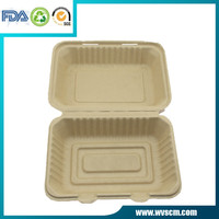 To go clamshell food storage container