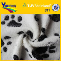 various 2013 Printed Coral Fleece Fabric / coral velvet fabric