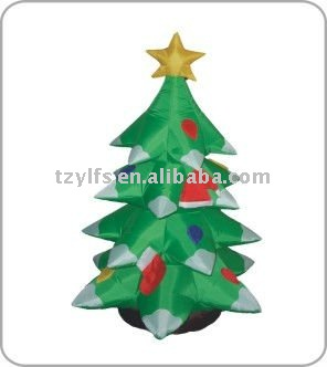 christmas inflatable tree