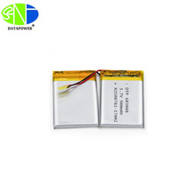 3.7v 900mah DTP603048 battery lipo rechargeable lithium ion battery for eletronic products
