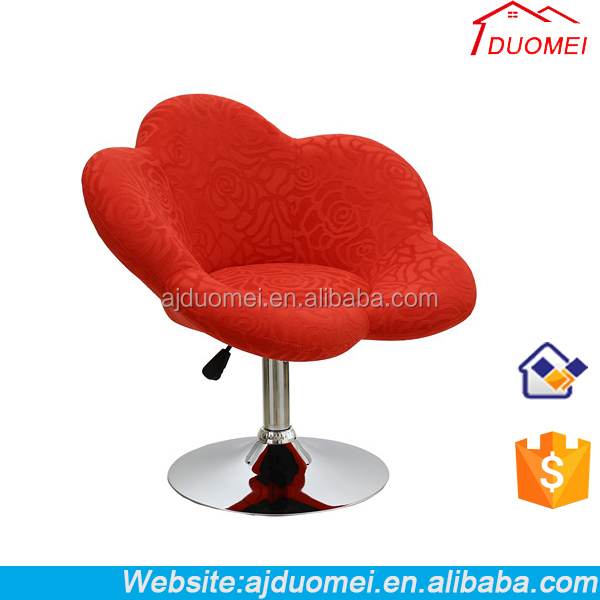 Europen Leisure Chair and Ergonomic Fancy Flower Living Room Chair