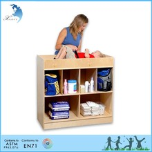 educational childcare Hot sale montessori school changing table childcare furniture