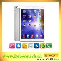 9.7 Inch Quad core 3G ultra digital tablet with phone function