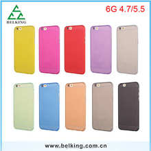 For iPhone 6 Solid Color Ultra Slim Frosted PP Case Drop Resistance Case For iPhone 6/6S Plus
