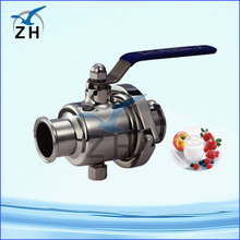 Stainless steel ball valve with long handle