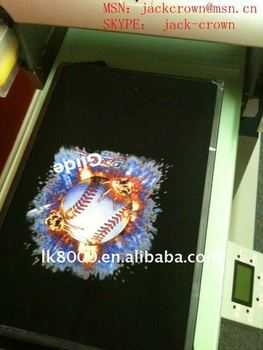 digital image, photos printer on T-shirt, fabric