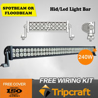 2013 New products 240w LED DRIVING LIGHT bar for communication side by side atv vehicle