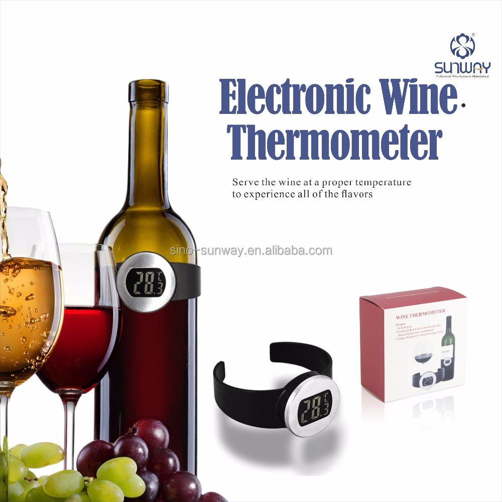 LCD Digital Electronic Household Wrist Wine Thermometer