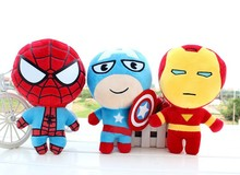 Fashion stuffing Plush Doll spiderman toys stuffed plush human doll toys