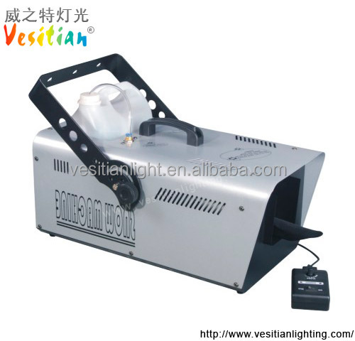 12L/h Party Wedding Stage Equipment 1200W DMX512 Control Large Snow Machine