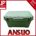 Outdoor fishing plastic ice chest camping cooler box