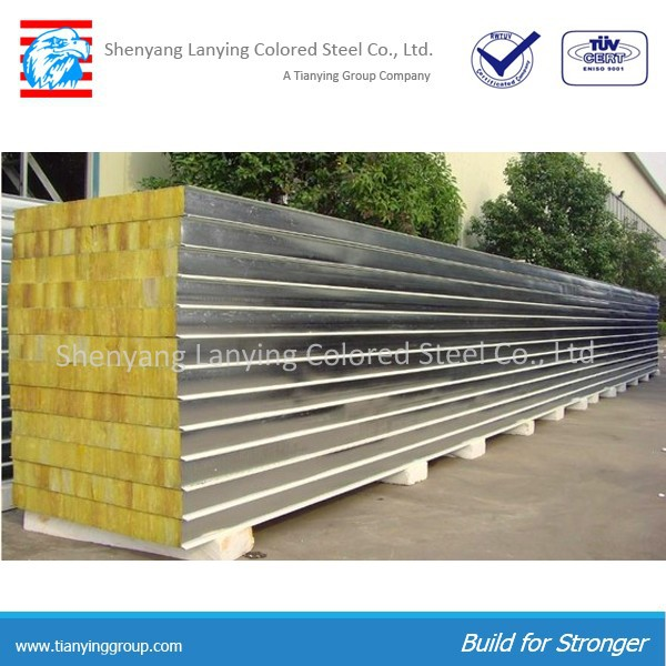 rockwool wall sandwich panel price