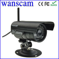 Cute ir cctv camera black colour waterproof wireless network web camera free DDNS high quality camera ip