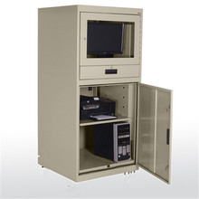 Fireproof extreme environments computer lock cabinet