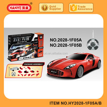HY2028-1F05A RC Toys Audi Model Simulation Bricks Car with Flashing and Voice