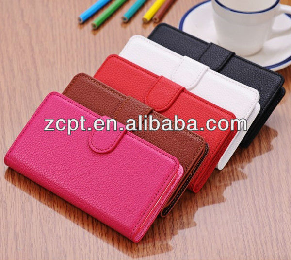 2013 New Fashion Leather Mobile Phone Case For iphone 5