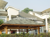 Laminated Fabric Asphalt Shingle Roof for Prefabricated Wooden House